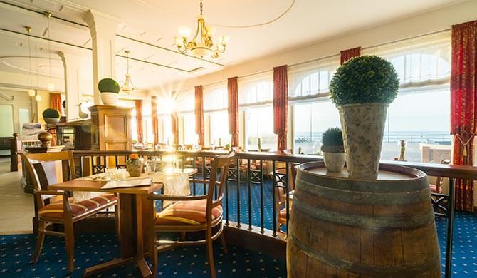 Restaurant im Strandhotel Ostfriesenhof