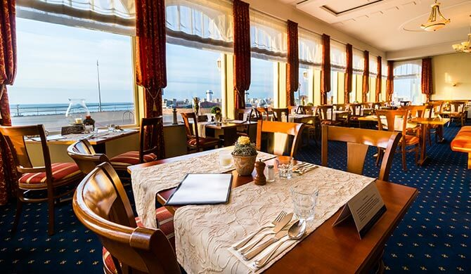 Restaurant Aquavit mit Meerblick